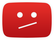 YouTube 404 Icon