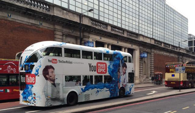 YouTube Double Decker Bus