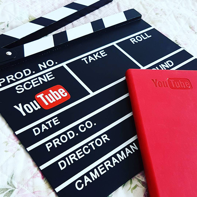 YouTube Clapperboard