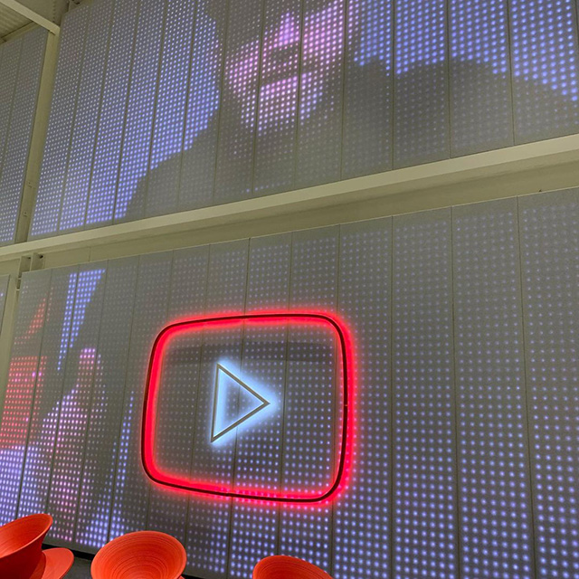 YouTube Office Pixel Screen