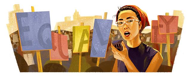 Google Doodle For Yuri Kochiyama
