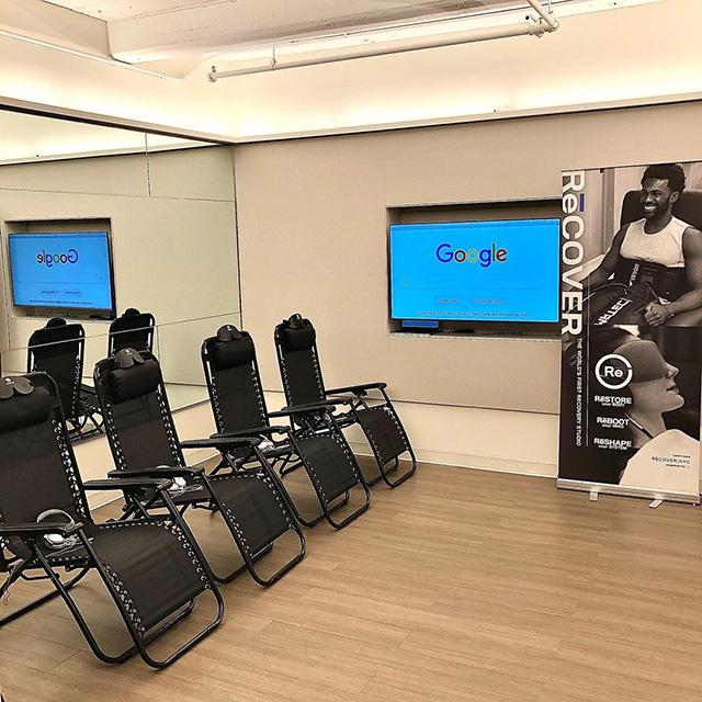 Zero Gravity Chairs At Google Office