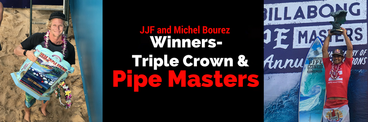 3 x Triple Crown and MB Pipe Master!