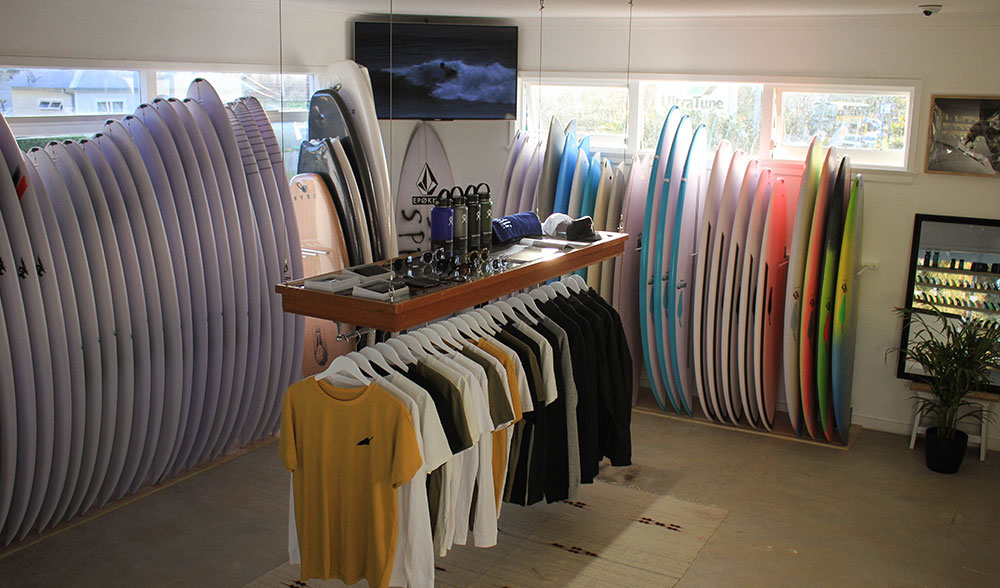 Surf Shop Open