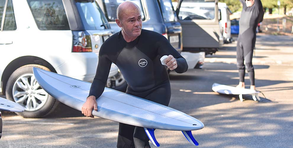 Greg Ando gearing up FRP