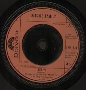 The Ritchie Family Brazil cover art