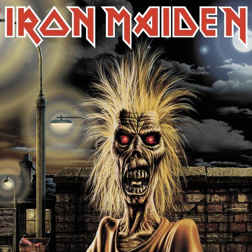 Iron Maiden Phantom Of The Opera cover art