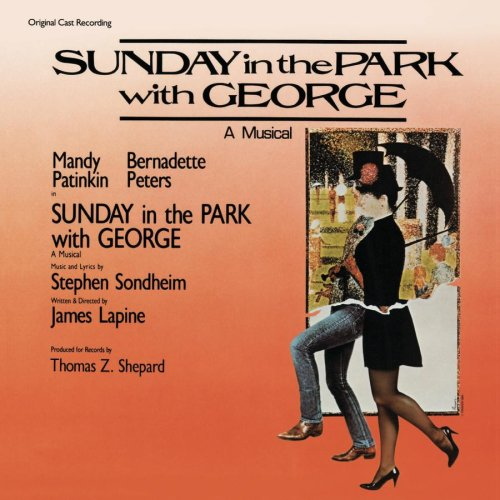 Stephen Sondheim Sunday cover art