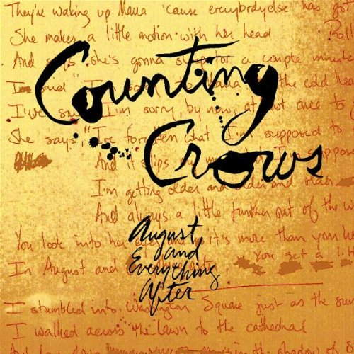 Counting Crows Rain King cover art