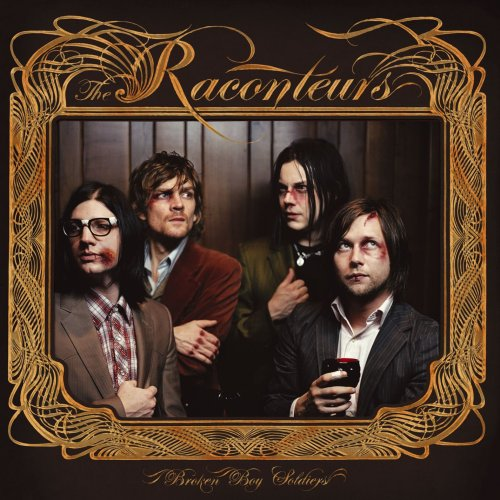 The Raconteurs Blue Veins cover art