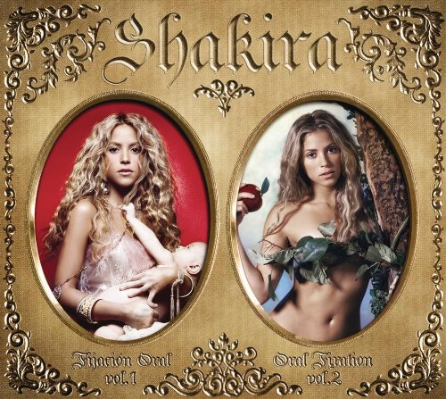 Shakira Something cover art