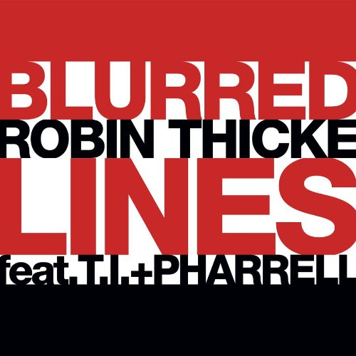 Robin Thicke Blurred Lines cover art