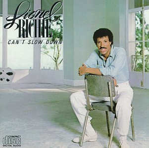 Lionel Richie Running With The Night cover art