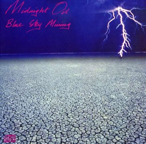 Midnight Oil Blue Sky Mine cover art