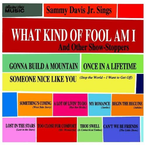 Sammy Davis Jr. What Kind Of Fool Am I (from Stop The World, I Want To Get Off) cover art