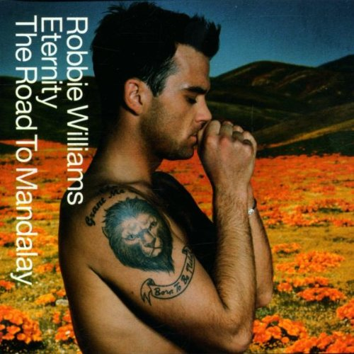 Robbie Williams Eternity cover art