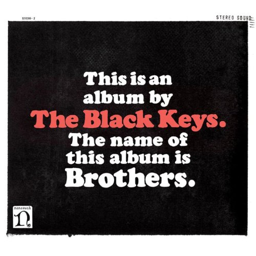 The Black Keys I'm Not The Only One cover art