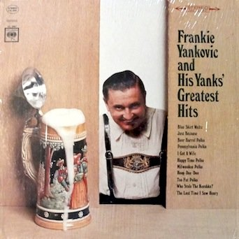 Frankie Yankovic Just Because cover art