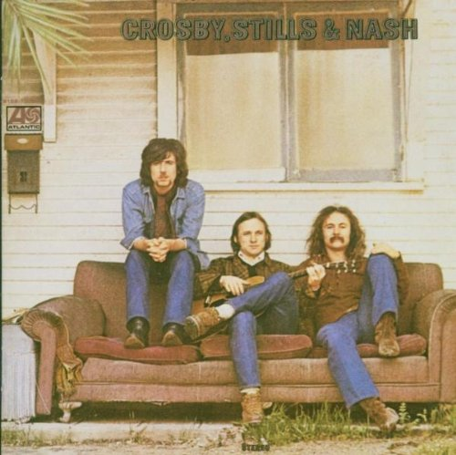 Crosby, Stills & Nash Long Time Gone cover art