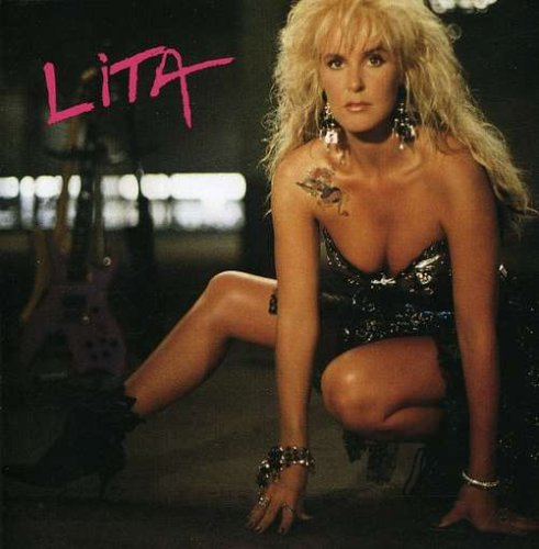 Lita Ford Kiss Me Deadly cover art