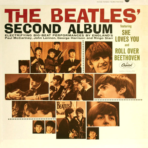 The Beatles Thank You Girl cover art