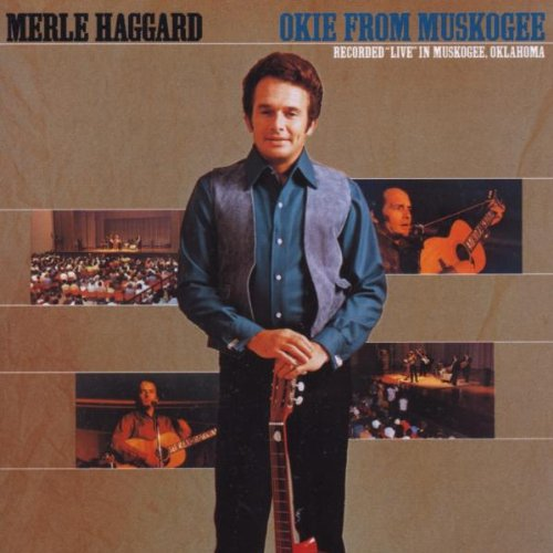 Merle Haggard Okie From Muskogee cover art