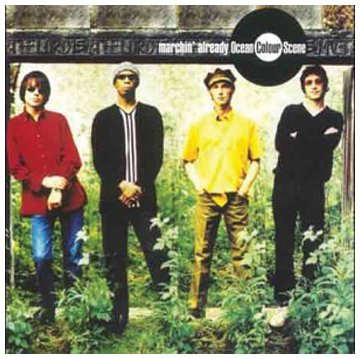 Ocean Colour Scene Foxy's Folk Faced cover art