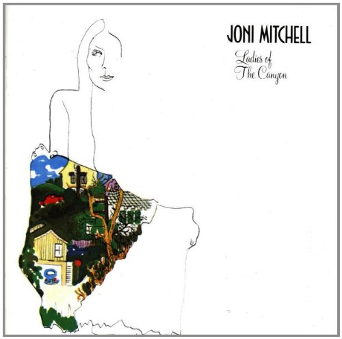 Joni Mitchell Woodstock cover art