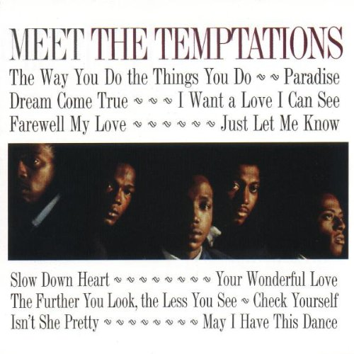 The Temptations The Way You Do The Things You Do cover art