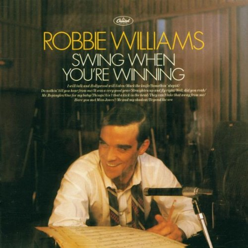 Robbie Williams Mr. Bojangles cover art