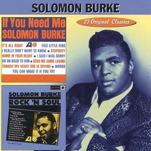 Solomon Burke Cry To Me cover art