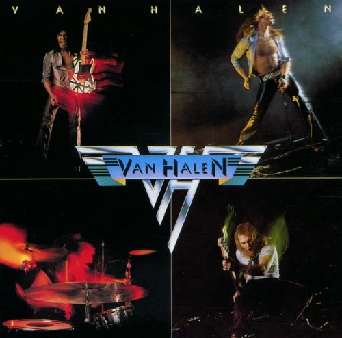 Van Halen Runnin' With The Devil cover art