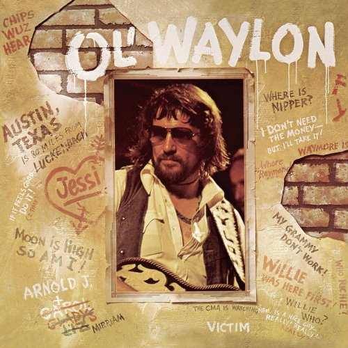 Waylon Jennings Luckenbach, Texas (Back To The Basics Of Love) cover art