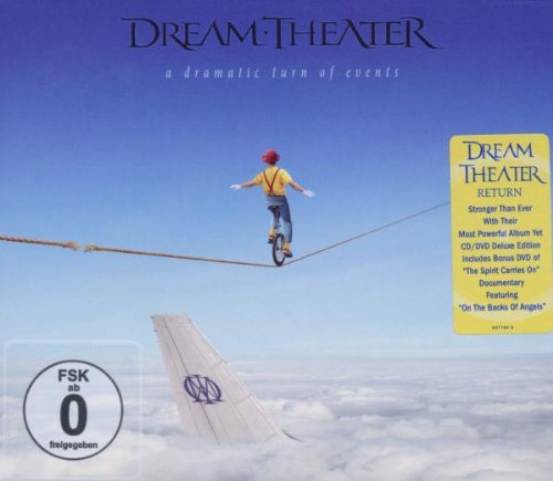 Dream Theater Breaking All Illusions cover art