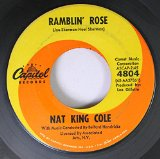 Ramblin' Rose sheet music by Nat King Cole