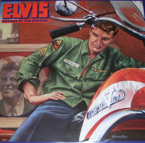 Elvis Presley His Latest Flame cover art