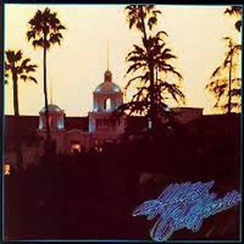 Eagles Hotel California arte de la cubierta