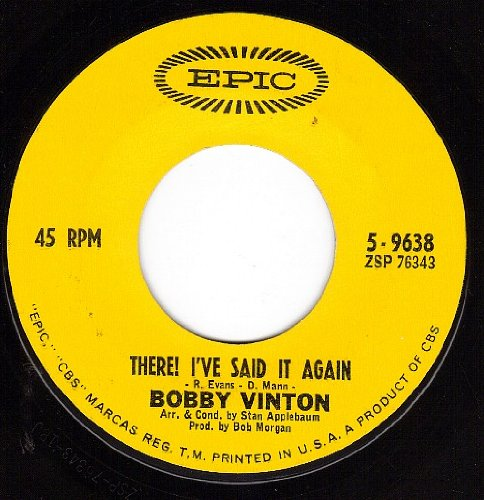 Bobby Vinton My Heart Belongs To Only You cover art
