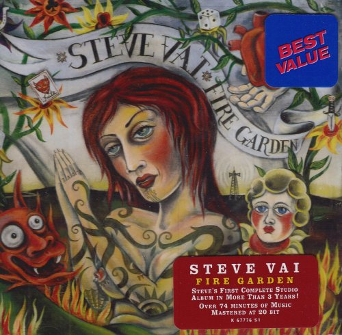Steve Vai There's A Fire In The House cover art