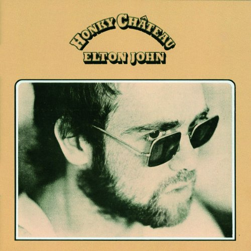 Elton John Honky Cat cover art