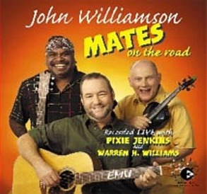 John Williamson Boomerang Cafe cover art