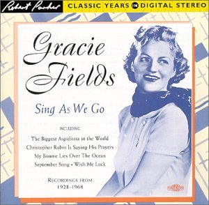 Sally sheet music by Gracie Fields