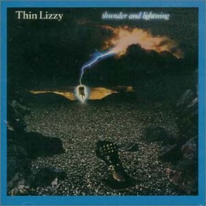Thin Lizzy Thunder And Lightning cover art
