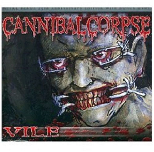 Cannibal Corpse Devoured By Vermin cover art