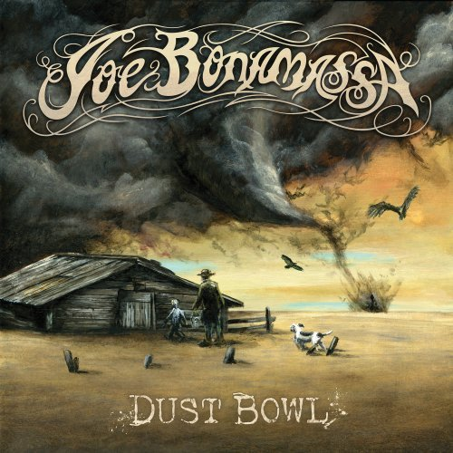 Joe Bonamassa Dust Bowl cover art