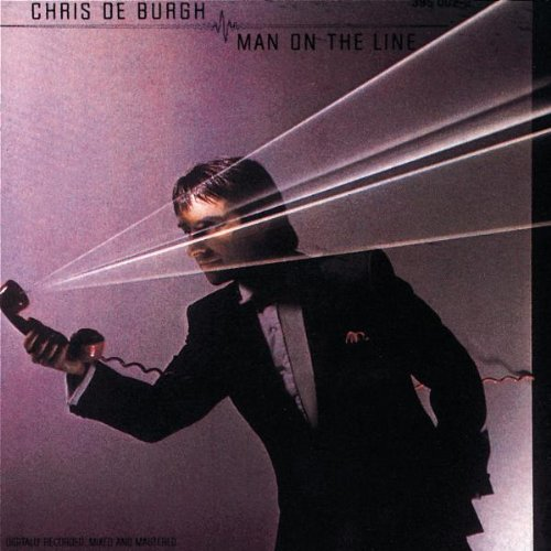 Chris de Burgh Man On The Line cover art