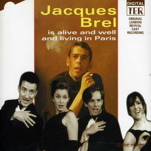 Jacques Brel If We Only Have Love (Quand On N'a Que L'amour) cover art