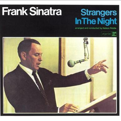 Frank Sinatra Strangers In The Night arte de la cubierta