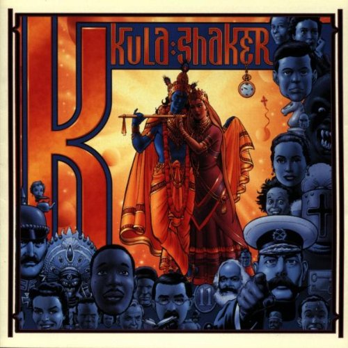 Kula Shaker Hollow Man (Parts 1 and 2) cover art
