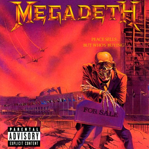 Megadeth My Last Words cover art